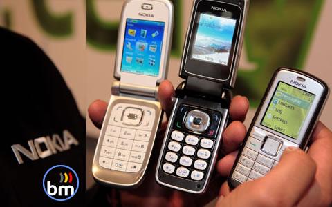 Nokia au 3GSM 2006