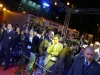 La file des VIP à l\'entrée du Mobistar Center