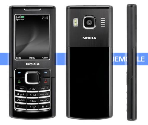 Nokia 6500 Classic noir