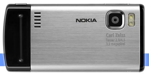 Nokia 6500 Slide arrière