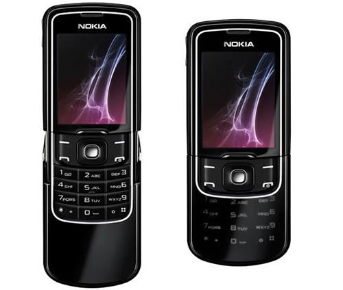 Nokia 8600 Luna face avant