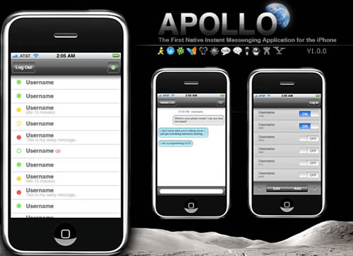 Apple iPhone Apollo IM