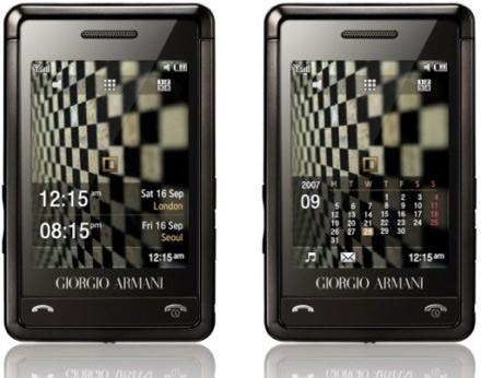 Samsung Giorgio Armani Phone