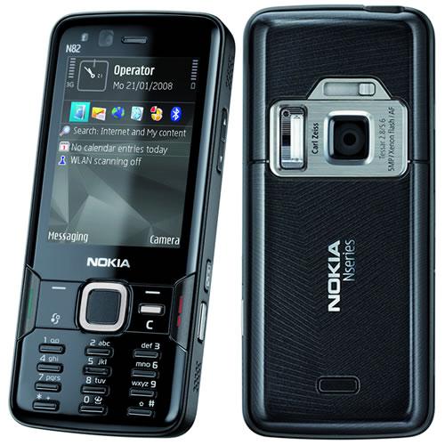 Nokia N82 Noir
