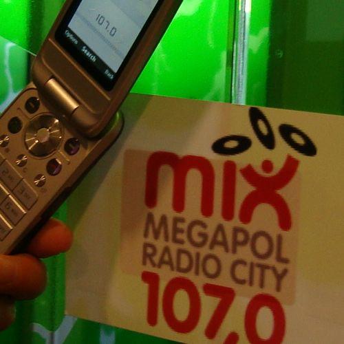Sony Ericsson NFC FM