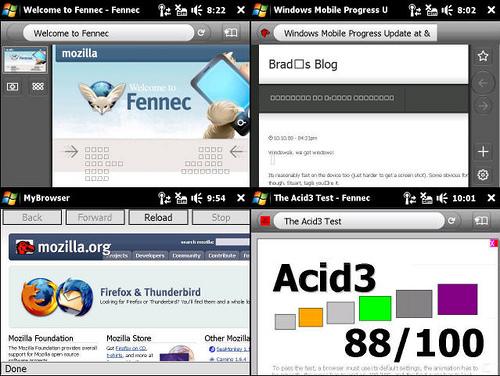 Mozilla Firefox Mobile - Fennec