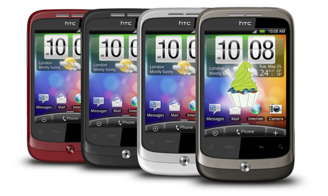 HTC Wildfire Froyo