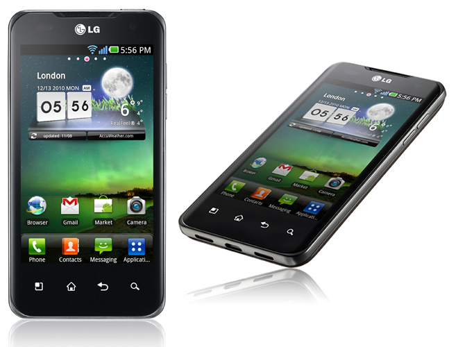 LG Optimus X2 Speed