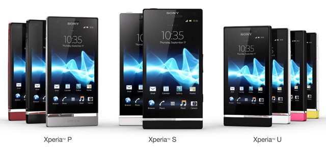 Sony Xperia NXT Series S P U