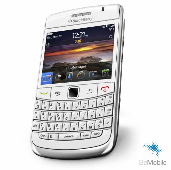 BlackBerry 9780 Bold 3G White
