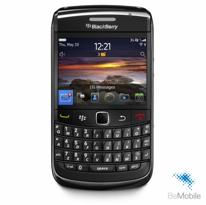 BlackBerry 9780 Bold 3G Black