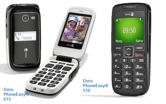 Doro EasyPhone 615 et 510