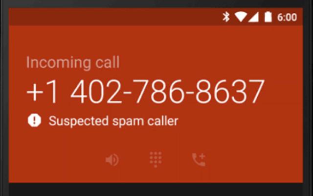 google-spamcall