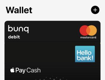 Apple Pay chez Bunq en Belgique