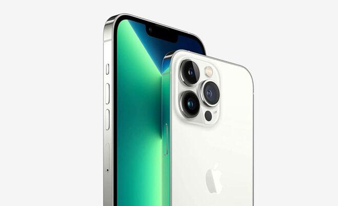 Image de l'iPhone 13 Pro avec 3 capteurs photo